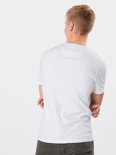Barbour International Koszulka 'International Small Logo Tee' w kolorze białym: Widok od tyłu