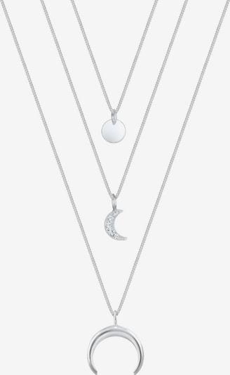 ELLI Halskette 'Layer' in silber, Produktansicht