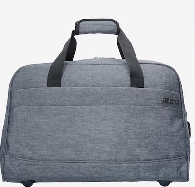 D&N Reisetasche in graumeliert, Produktansicht