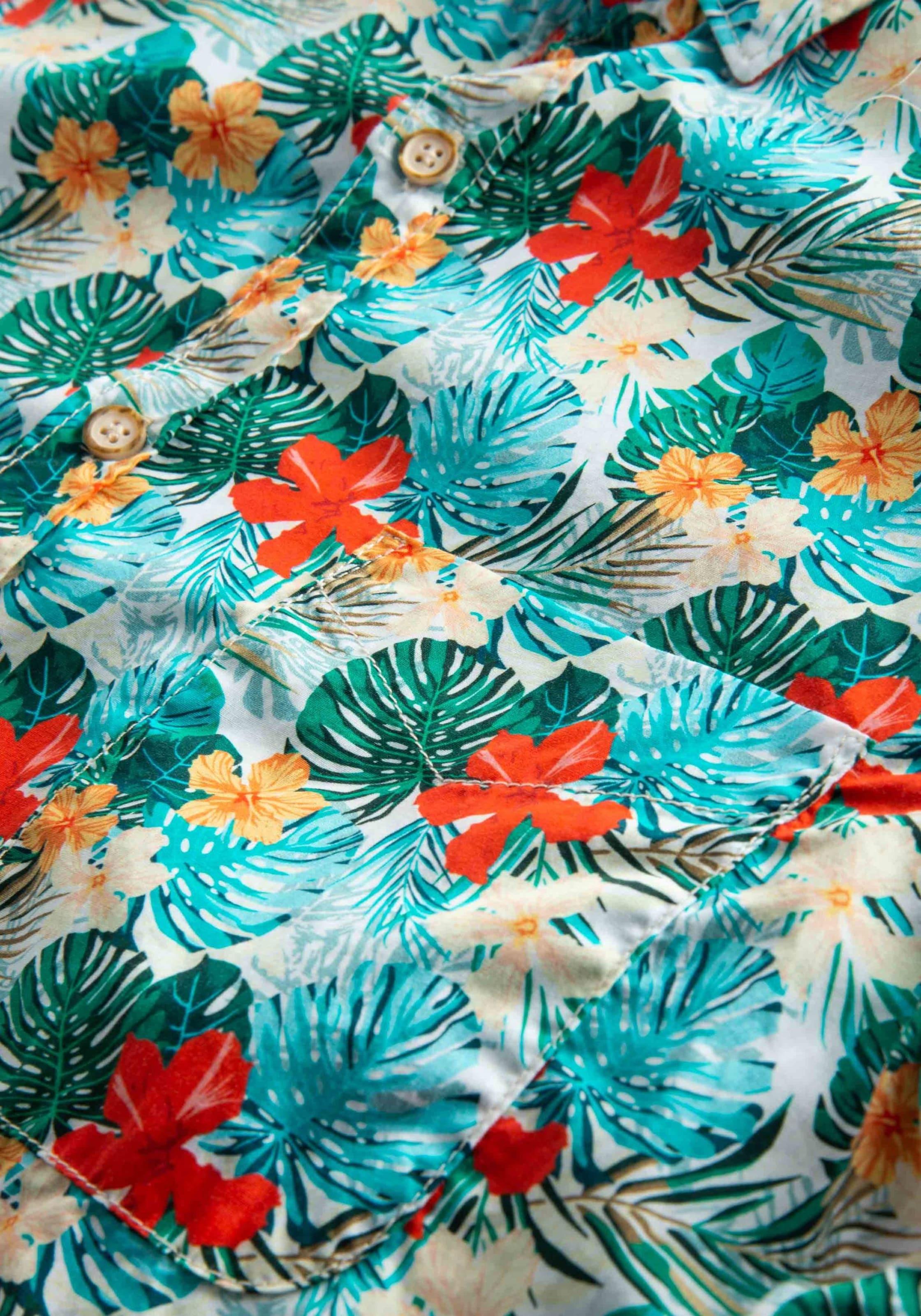 Shorty Jungle In Hemd Mischfarben Coloursamp; Sons lPuwOTkXZi