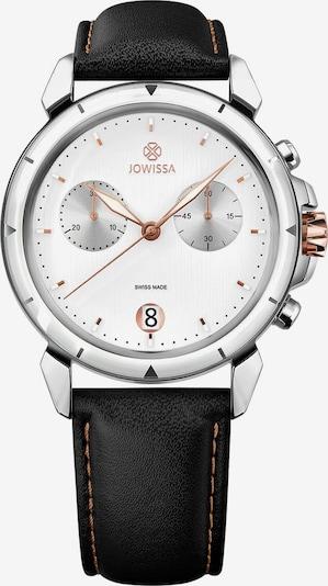 JOWISSA Quarzuhr 'LeWy 6' Swiss Men's Watch in rosegold / schwarz / silber / weiß, Produktansicht