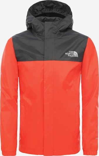 THE NORTH FACE Regenjacke 'Resolve' in orange / schwarz, Produktansicht