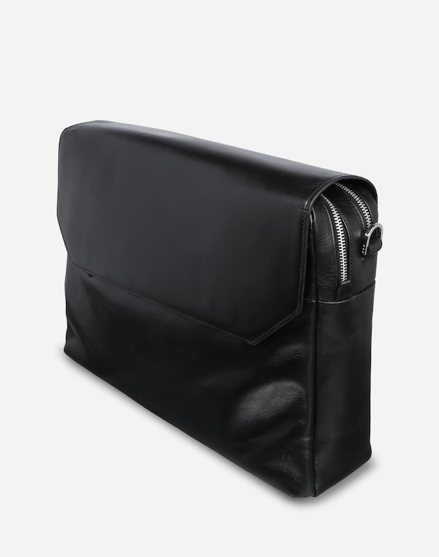 ROYAL REPUBLIQ Messenger Bag 'New Courier' aus Leder