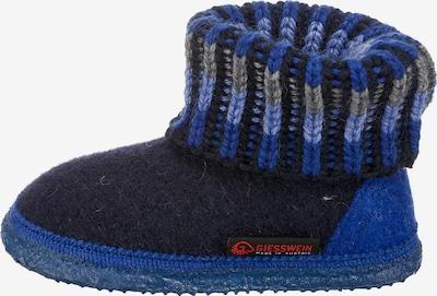 GIESSWEIN Hausschuhe 'KRONAU' in blau / nachtblau / grau, Produktansicht
