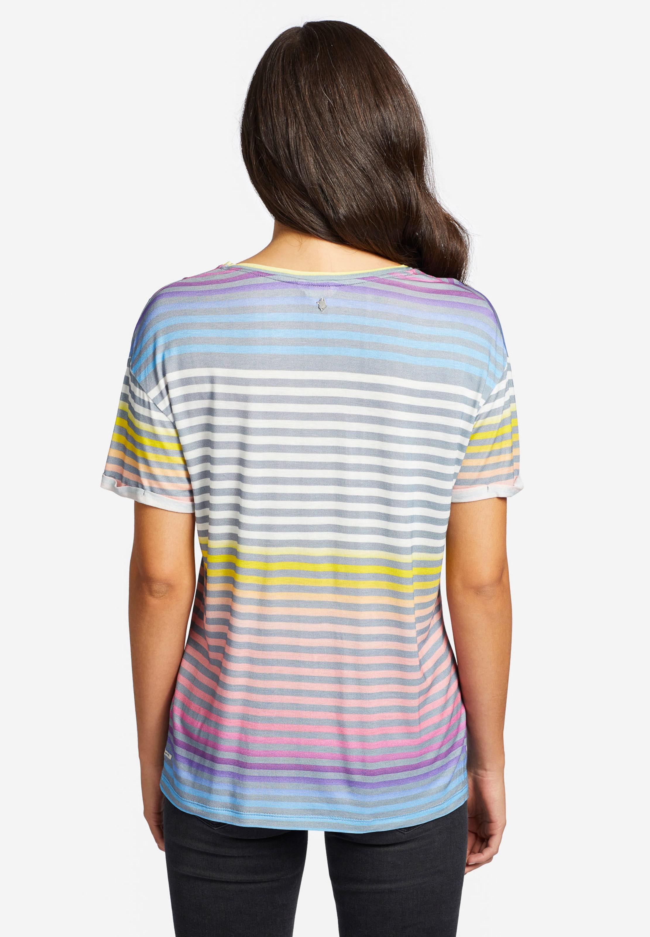 'ornate Mischfarben In Khujo Print' T shirt eEYID29WH