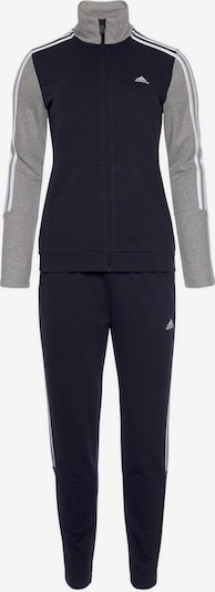 ADIDAS PERFORMANCE Sportanzug 'OSR W 3S CO TS' in marine / grau, Produktansicht