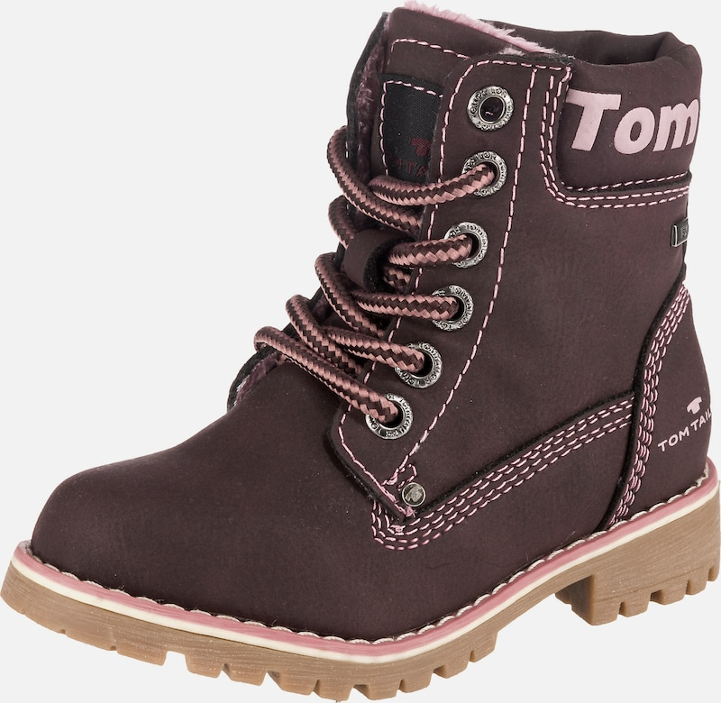 TOM TAILOR Winterstiefel in weinrot, Produktansicht