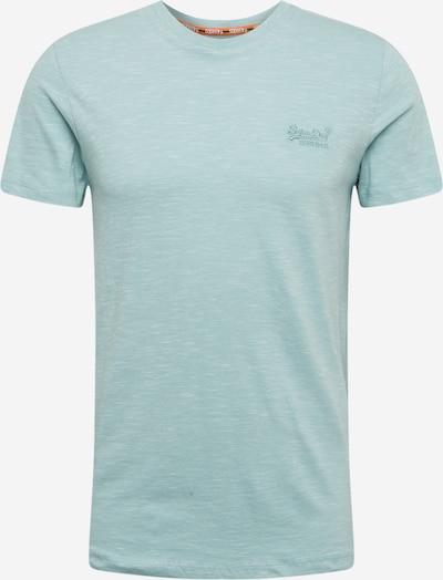 Superdry Shirt 'OL VINTAGE EMB CREW' in de kleur Mintgroen, Productweergave