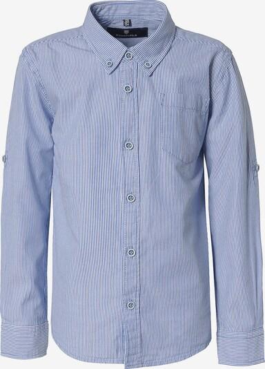 BASEFIELD Hemd in hellblau / weiß, Produktansicht