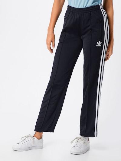 ADIDAS ORIGINALS Hose 'Firebird TP' in schwarz / weiß, Modelansicht