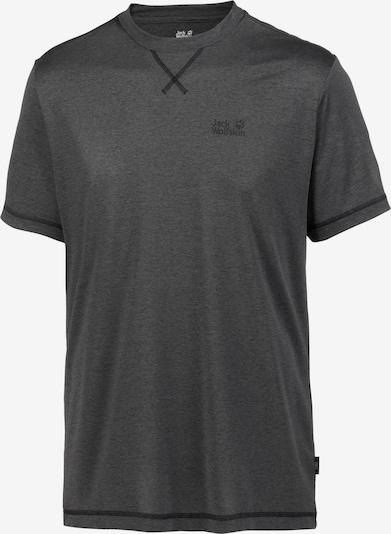 JACK WOLFSKIN T-Shirt fonctionnel 'Crosstrail' en anthracite, Vue avec produit