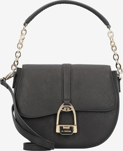La Martina Nina Schultertasche 24 cm in schwarz, Produktansicht