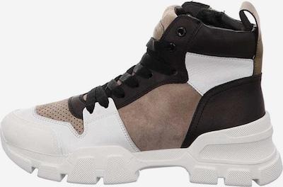 Kennel & Schmenger Sneakers in hellbeige / kastanienbraun / weiß, Produktansicht
