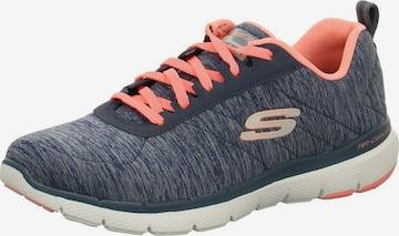 SKECHERS Sneaker 'Flex Appeal 3.0' in Blau