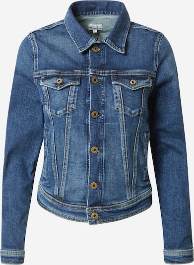 Pepe Jeans Jeansjacke 'Core' in blue denim: Frontalansicht