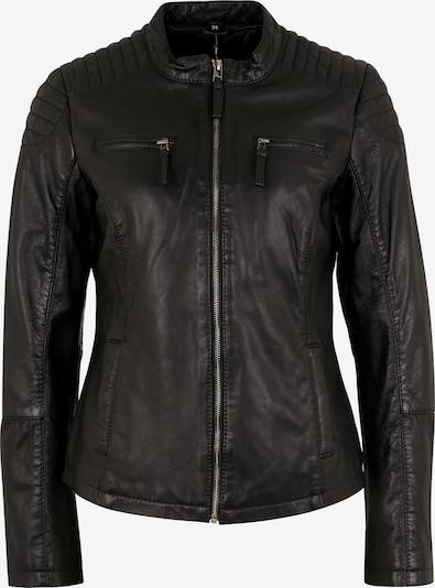 7ELEVEN Lederjacke in schwarz, Produktansicht