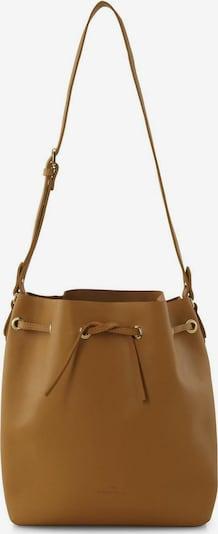 TOM TAILOR Bags Beuteltasche aus Leder in senf, Produktansicht