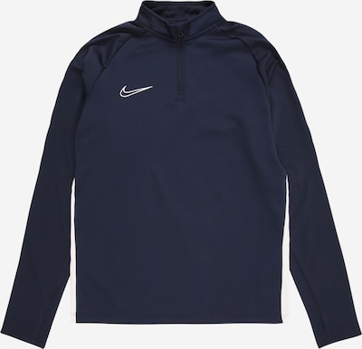 Sportinio tipo megztinis iš NIKE , spalva - tamsiai mėlyna jūros spalva / balta, Prekių apžvalga