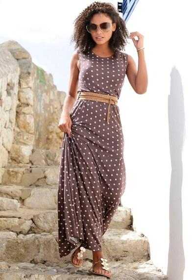 LASCANA Kleid in umbra, Modelansicht