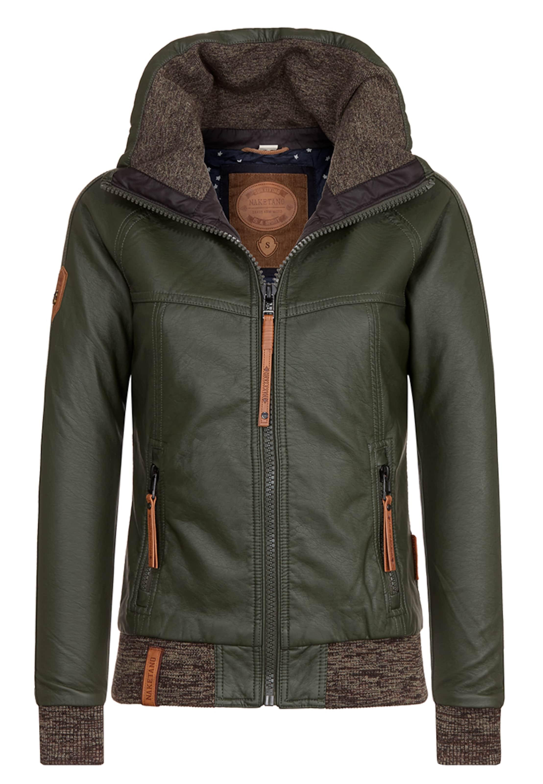 Billig 100% Authentisch naketano Female Jacket 'Hilde Gorgonzola' Billige Neuesten Kollektionen 100% Ig Garantiert Verkauf Online gDjNz2