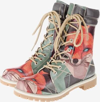 DOGO Schnürstiefelette 'Red Fox' in mischfarben, Produktansicht