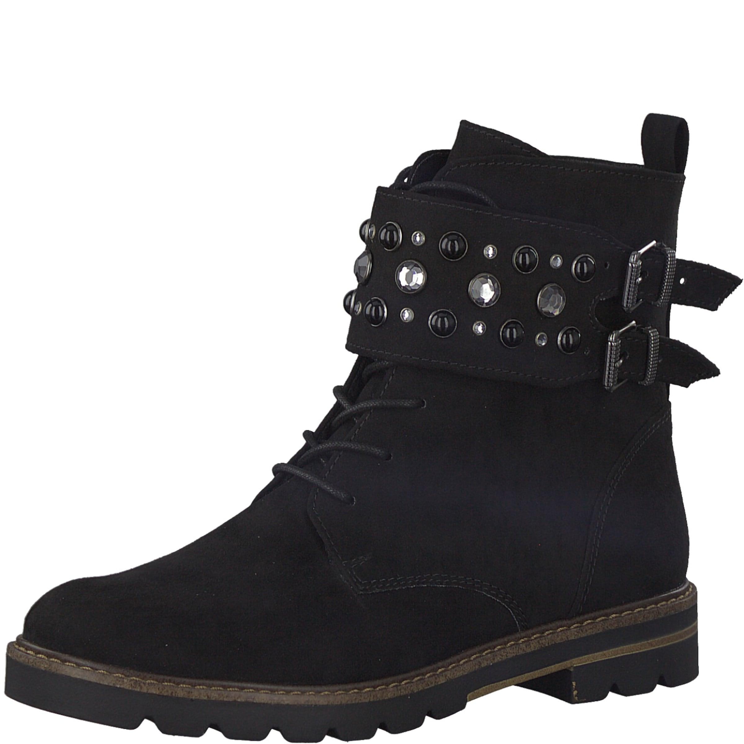 MARCO TOZZI Schnürstiefel Verschleißfeste billige Schuhe