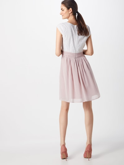 ABOUT YOU Kleid 'Darlin' in rosa / weiß: Rückansicht