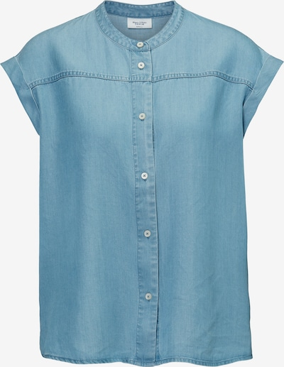 Marc O'Polo DENIM Bluse in blau, Produktansicht