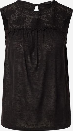 VERO MODA Top 'VMKAROLA' in de kleur Zwart, Productweergave