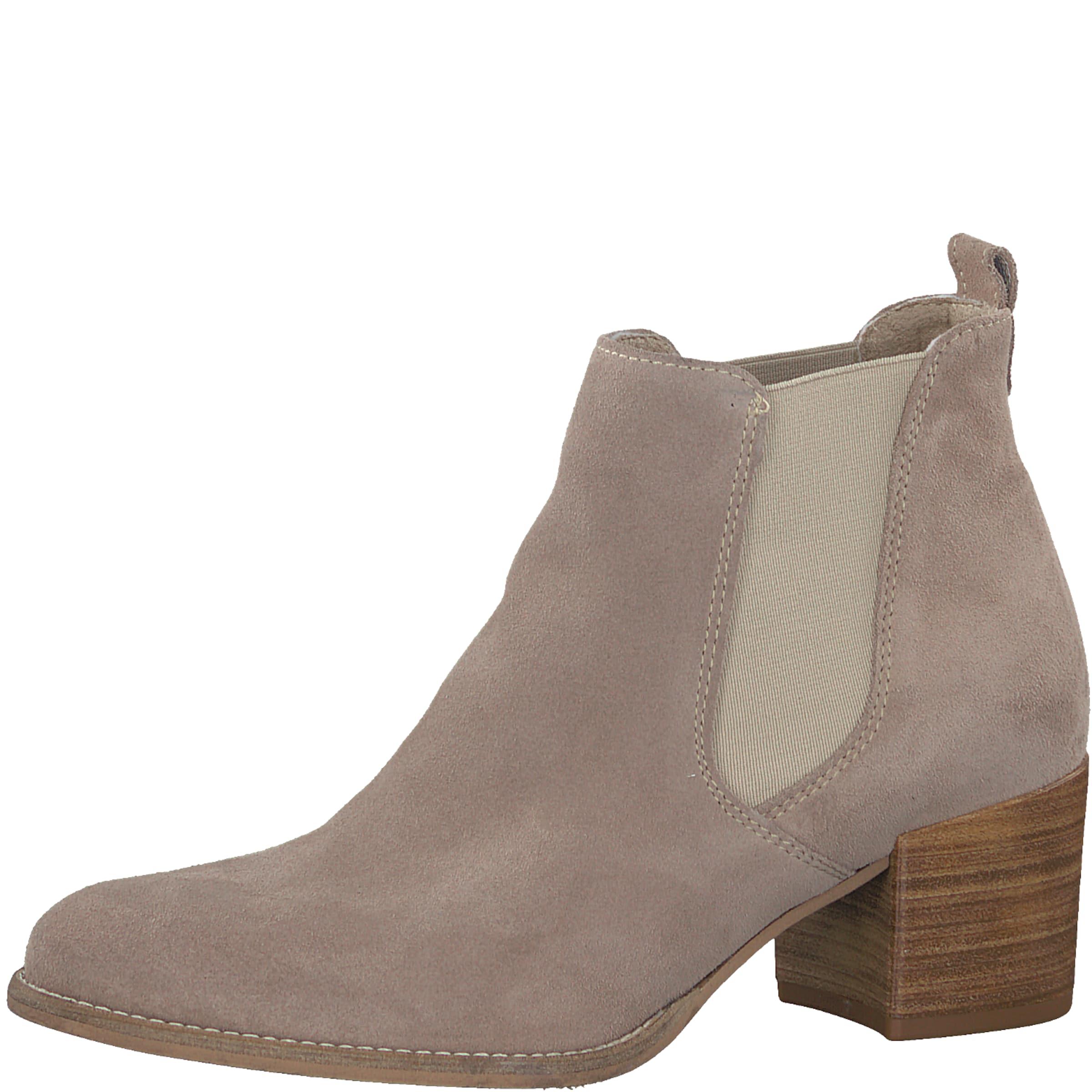 TAMARIS Chelsea-Stiefelette mit Blockabsatz Verschleißfeste billige Schuhe