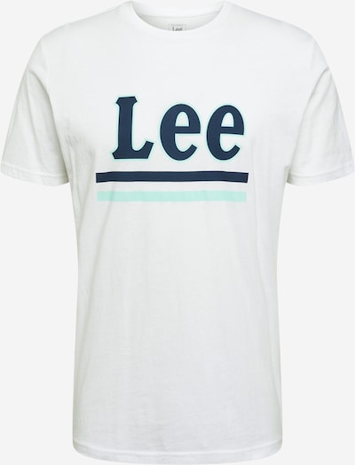 Lee Shirt in navy / mint / weiß, Produktansicht