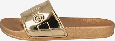 BJÖRN BORG Pantolette ' HARPER II MET ' in gold, Produktansicht