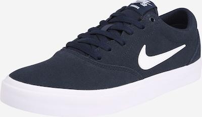 Nike SB Sneaker 'Charge Suede' in nachtblau / weiß, Produktansicht