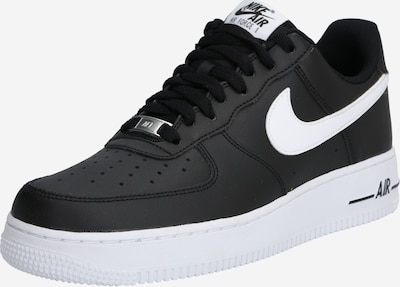 Nike Sportswear Baskets basses 'Air Force' en noir / blanc, Vue avec produit