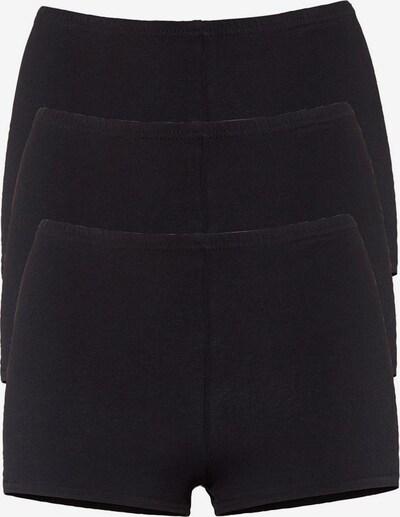 GO IN Panty in schwarz, Produktansicht