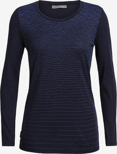Icebreaker Shirt 'Tech Lite LS Low Crewe Lands' in nachtblau / dunkelblau, Produktansicht