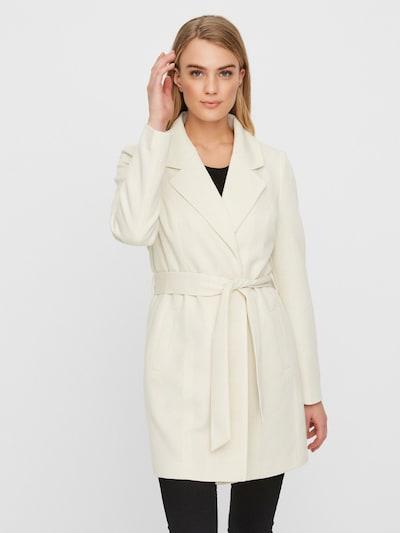 VERO MODA Płaszcz przejściowy w kolorze offwhitem, Podgląd na modelu(-ce)