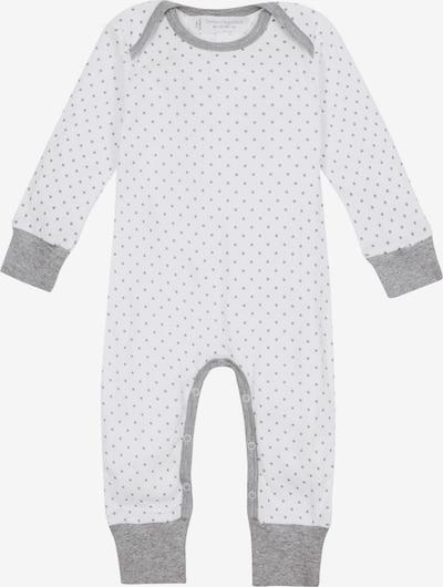 Sense Organics Strampler 'Wayan' in grau / weiß, Produktansicht