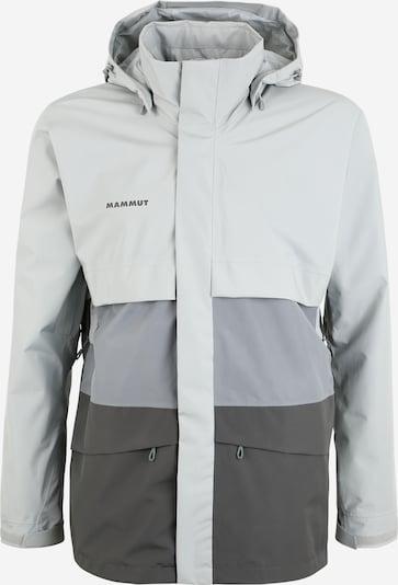 MAMMUT Športová bunda - sivá / svetlosivá, Produkt
