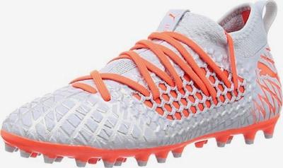 PUMA Fußballschuh 'Future 4.3 Netfit Mg ' in orange / silber, Produktansicht