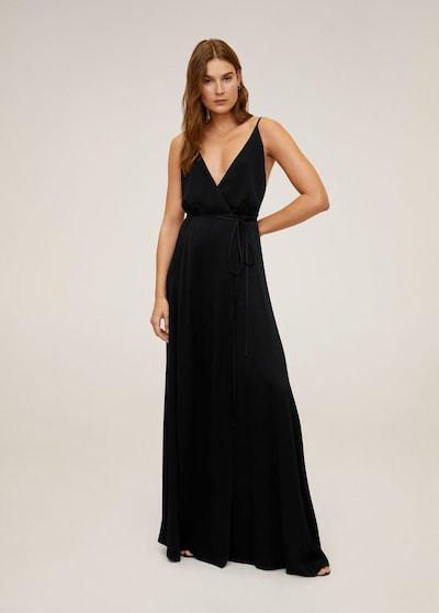MANGO Kleid 'Longus' in schwarz, Modelansicht