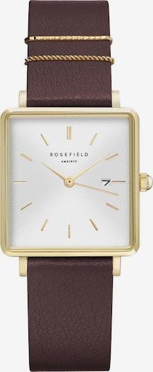ROSEFIELD Uhr in braun / gold, Produktansicht