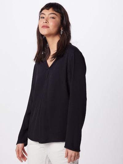 BRUUNS BAZAAR Bluzka w kolorze czarnym: Widok z przodu