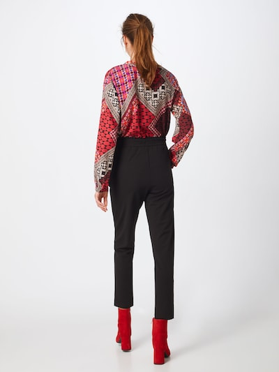 JACQUELINE de YONG Spodnie 'JDYCATIA PANTS JRS NOOS' w kolorze czarnym: Widok od tyłu