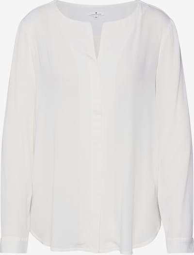 TOM TAILOR Halenka 'blouse with V-neckline' - bílá, Produkt