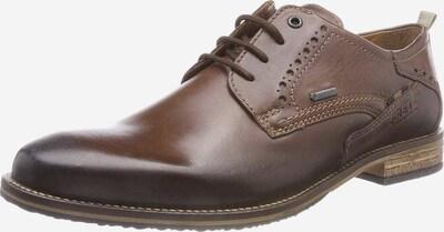 FRETZ MEN Schnürschuhe in braun, Produktansicht