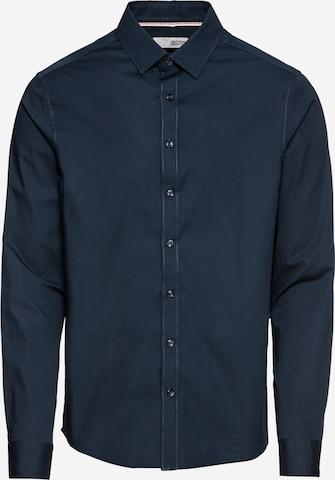 !Solid Hemd 'Tyler' in Blau