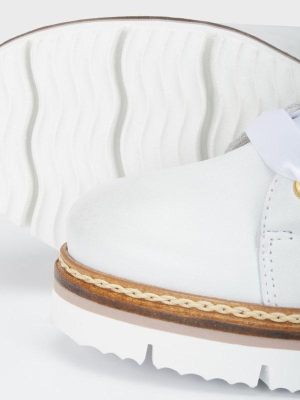 Bianco Rillensohlen Schnür Schuhe