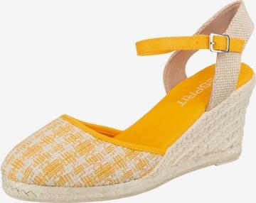 ESPRIT Sandalette in Gelb