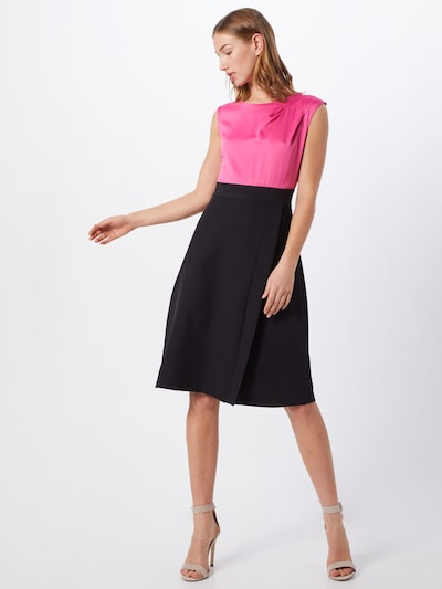 Closet London Sukienka koktajlowa w kolorze różowy / czarnym: Widok z przodu